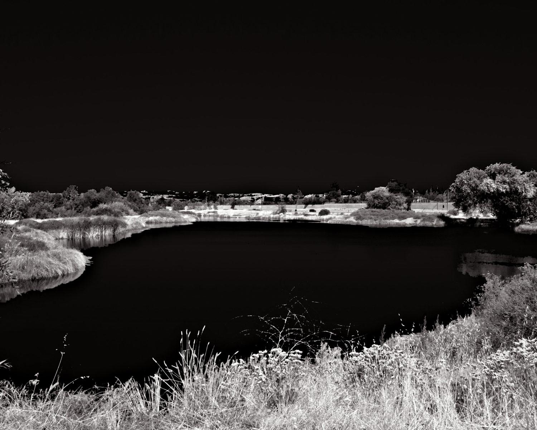 P9020340_pond-B&W